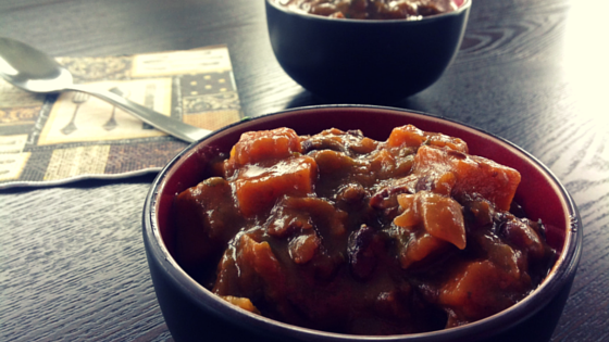 Sweet Potato Pumpkin Stew