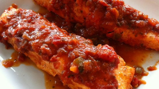 Salmon Baked with Salsa copy 2