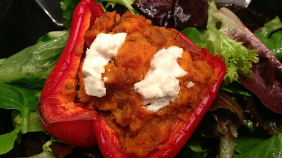 Sweet Potato Stuffed Peppers copy