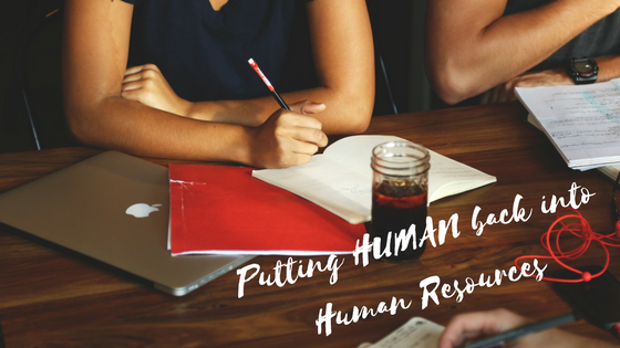 Blog - Putting Human Back In Human Resources